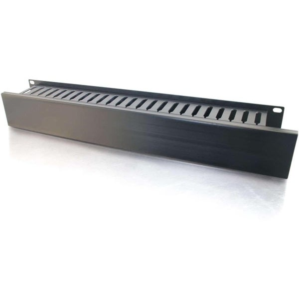 C2G Horizontal Cable Management Panel 2U 3.5in
