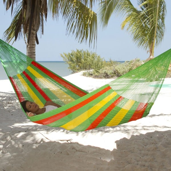 Handmade 'Tropical Passion' Hammock (Mexico)