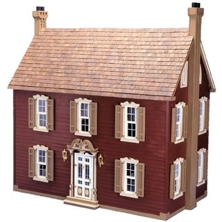 Willow Dollhouse Kit - Red