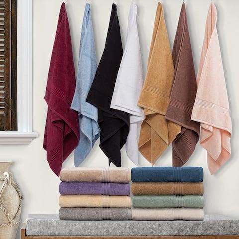 Superior Plush & Absorbent Egyptian Cotton 600 GSM 6-piece Towel Set