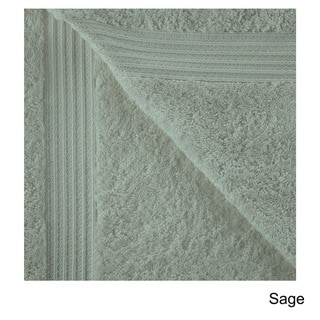 Superior Collection Luxurious 100-percent Premium Long-staple Combed Cotton 6-piece Towel Set