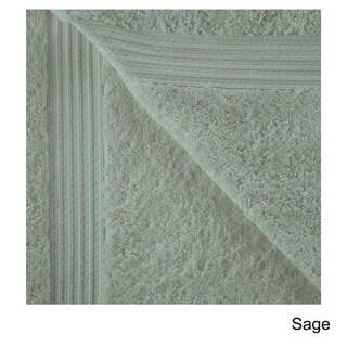 Superior Collection Luxurious 100-percent Premium Long-staple Combed Cotton Bath Sheet (Set of 2)