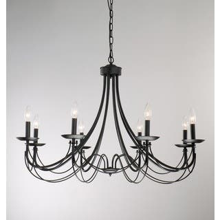 Iron 8-light Black Chandelier|https://ak1.ostkcdn.com/images/products/3285729/P11387581.jpg?impolicy=medium