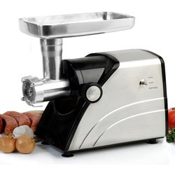 Electric 550-watt Aluminum Die-cast Meat Grinder