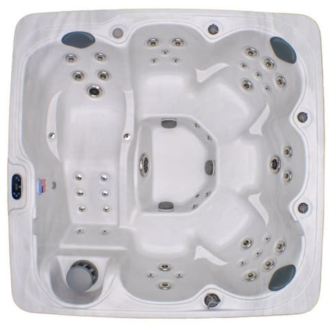 Home and Garden 6-person 71-jet Spa with Stainless Jets and Ozone Included