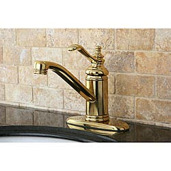 Clearance. Templeton Polished Brass Centerset Bathroom Faucet