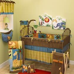 Cotton Tale Paradise Machine-Washable 4-piece Crib Bedding Set|https://ak1.ostkcdn.com/images/products/3289051/Cotton-Tale-Paradise-4-piece-Crib-Bedding-Set-P11390383a.jpg?impolicy=medium