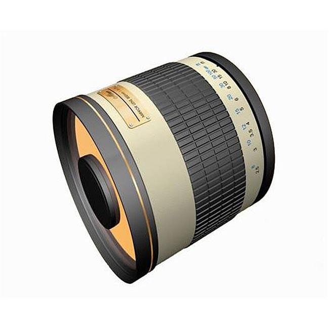 Rokinon 500mm Mirror Lens for Pentax Cameras