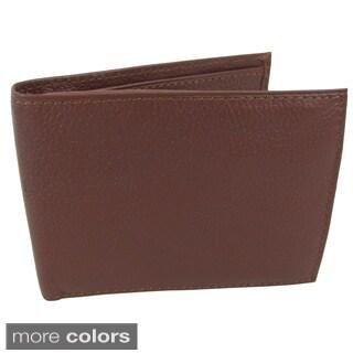 Amerileather Men's Leather Bi-fold Wallet|https://ak1.ostkcdn.com/images/products/32910/P911962.jpg?_ostk_perf_=percv&impolicy=medium