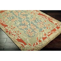 Hand-knotted Legacy Collection Wool Area Rug - 6' x 9'