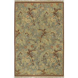 Hand-knotted Legacy Collection Wool Area Rug (9' x 12') - Thumbnail 0