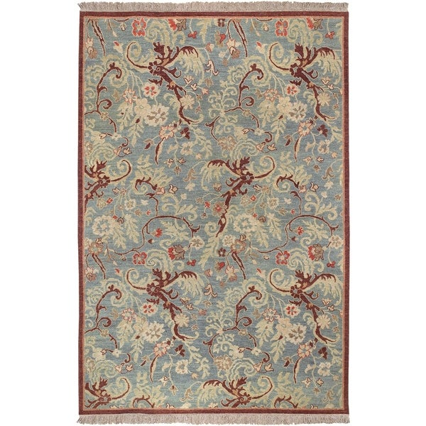 Hand-knotted Legacy Collection Wool Area Rug - 9' x 12'