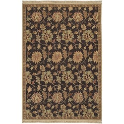 Hand-knotted Legacy Collection Wool Area Rug (9' x 12') - 9' x 12' - Thumbnail 0