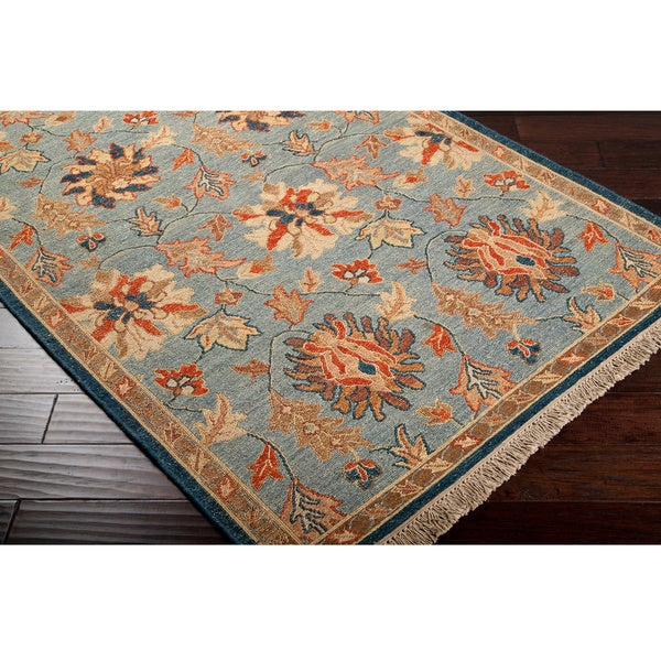 Hand-knotted Legacy Collection Wool Rug (10' x 14')