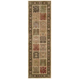 Nourison Brentwood Multi color Rug (2'3 x 7'6) Runner