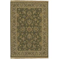 Hand-knotted Soumek Wool Area Rug (10' x 14')