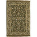 Hand-knotted Soumek Wool Area Rug (8' x 10')
