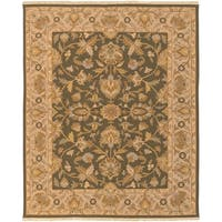 Hand-knotted Soumek Wool Area Rug - 8' x 10'