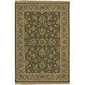 Hand-knotted Soumek Wool Area Rug (9' x 12')