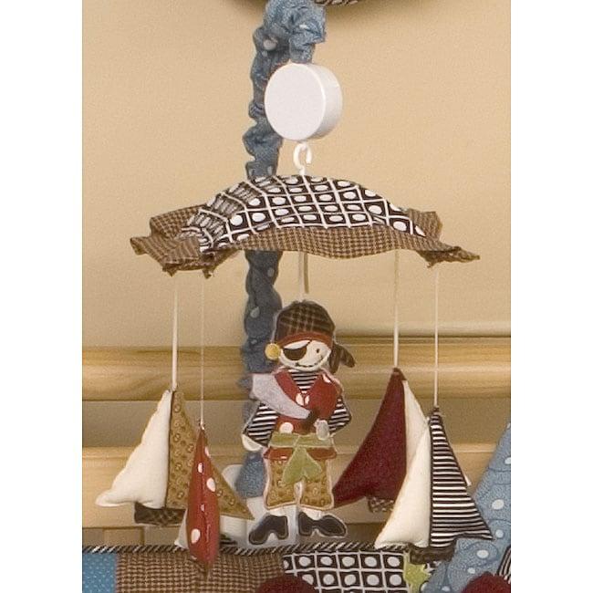 Cotton Tale Pirates Cove Musical Mobile, Multi