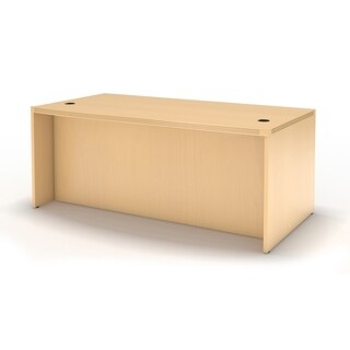 """Mayline Aberdeen 72""""W x 30""""D Straight Front Rectangle Desk (2 options available)"""
