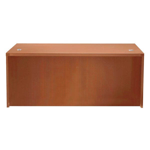 Mayline Aberdeen 60-inch Cherry Straight Desk Shell