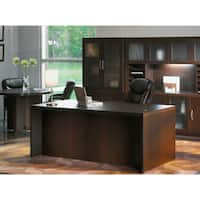 "Mayline Aberdeen 60""W x 30""D Straight Front Rectangle Desk"