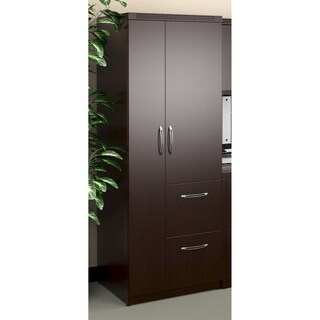 Mayline Aberdeen Personal Storage Tower with 2 Doors and 2 Drawers