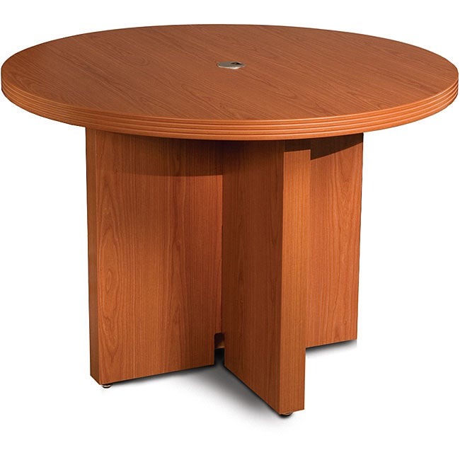 Mayline Aberdeen 42-inch Cherry Round Conference Table (C...