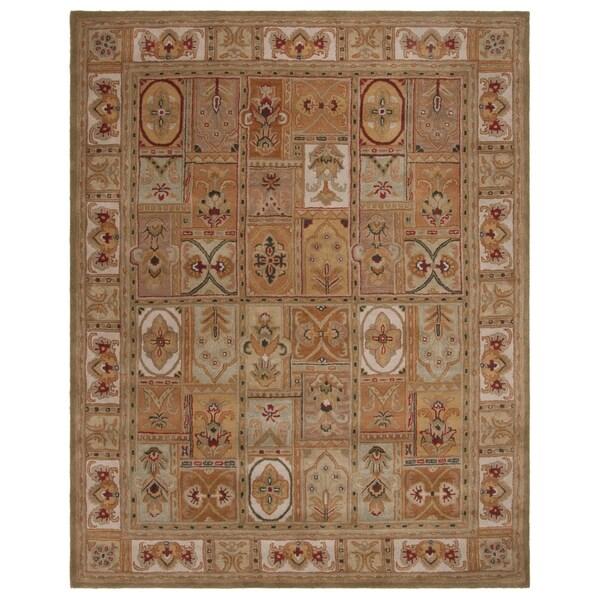 """Safavieh Handmade Classic Empire Wool Panel Rug - 9'6"""" x 13'6"""""""