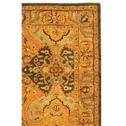 Safavieh Handmade Treasure Gold/ Green New Zealand Wool Rug (8' x 10') - Thumbnail 2
