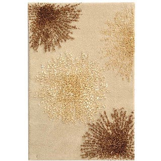 Safavieh Handmade Soho Burst Beige New Zealand Wool Rug (2' x 3')|https://ak1.ostkcdn.com/images/products/3296790/P11396622.jpg?impolicy=medium