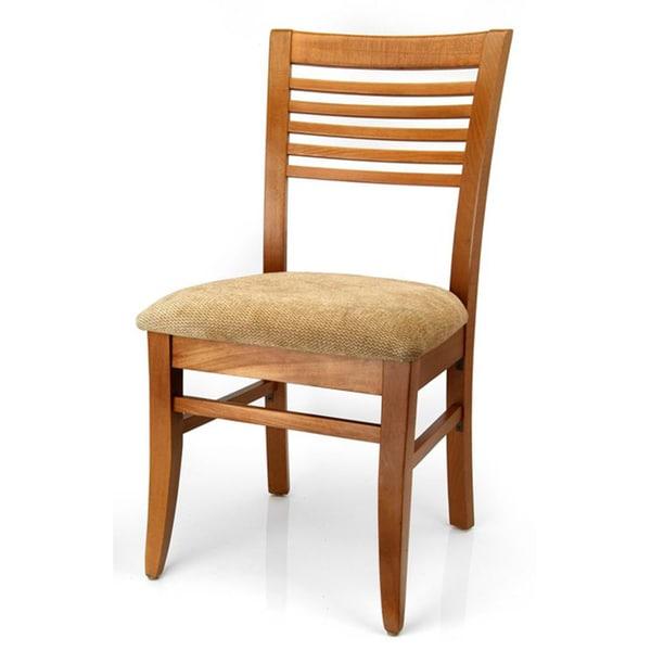 Rachel Wheat Venetian Cherry Dining Chair (Set of 2)