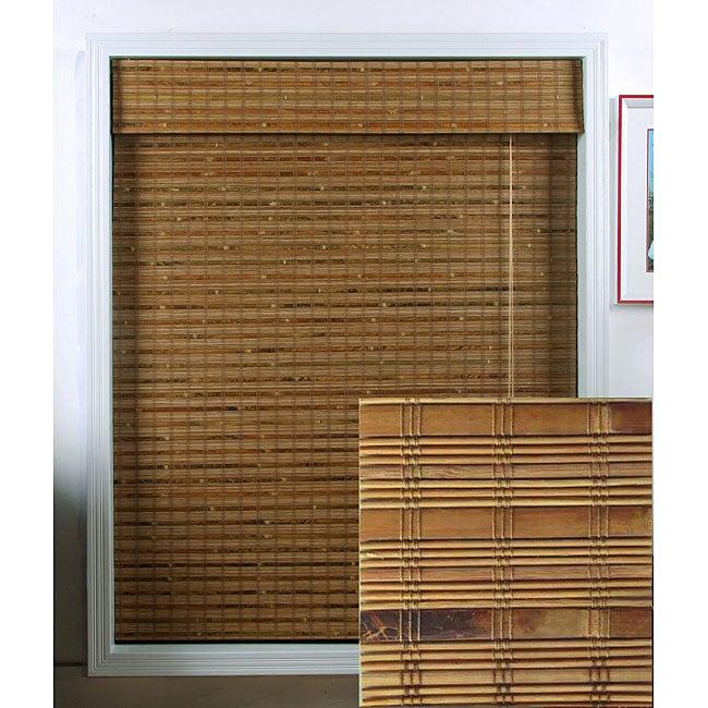 Arlo Blinds Dali Native Bamboo Roman Shade (66 in. x 74 in.)