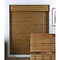 Arlo Blinds Dali Native Bamboo Roman Shade (72 in. x 74 in.)