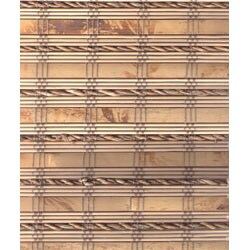 Arlo Blinds Mandalin Bamboo Roman Shade (35 in. x 74 in.)