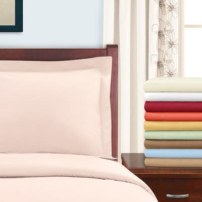 Superior 300 Thread Count Cotton Sateen Duvet Cover Set