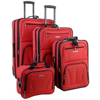 Rockland Red 4-piece Expandable Luggage Set|https://ak1.ostkcdn.com/images/products/3297849/P11397496.jpg?impolicy=medium