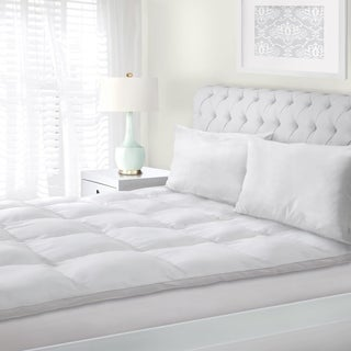 Superior All Season Down Alternative Hypoallergenic White Mattress Topper