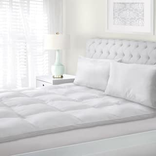 Superior All Season Down Alternative Hypoallergenic White Mattress Topper|https://ak1.ostkcdn.com/images/products/3297895/P11397513.jpg?impolicy=medium