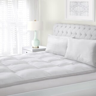 Superior All-Season Down Alternative Hypoallergenic Mattress Topper - White