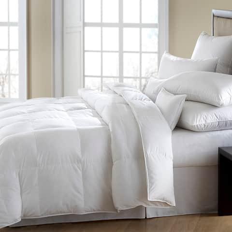 Superior White All-Season Down Alternative Hypoallergenic Comforter
