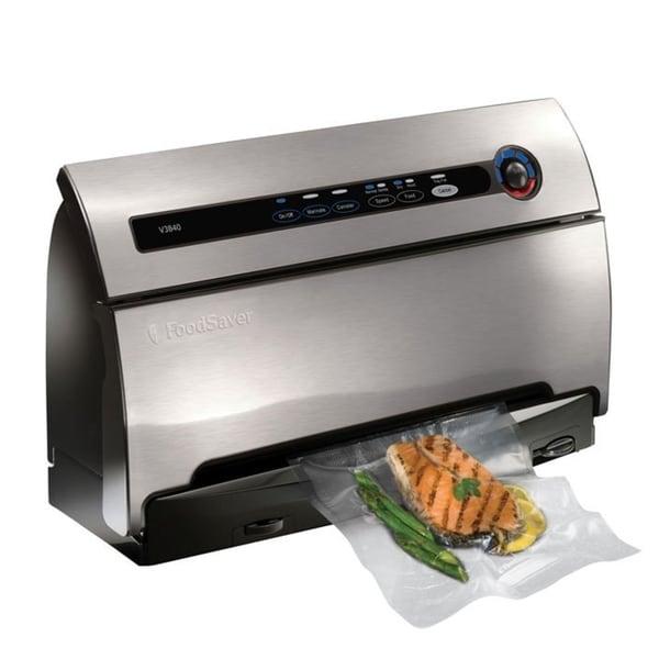 FoodSaver V3840 Vacuum Food Sealer with SmartSeal Technology