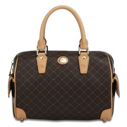 Rioni Signature Small Boston Bag