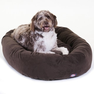 """Majestic Pet 52"""" Faux Suede Extra Large Dog Bed"""