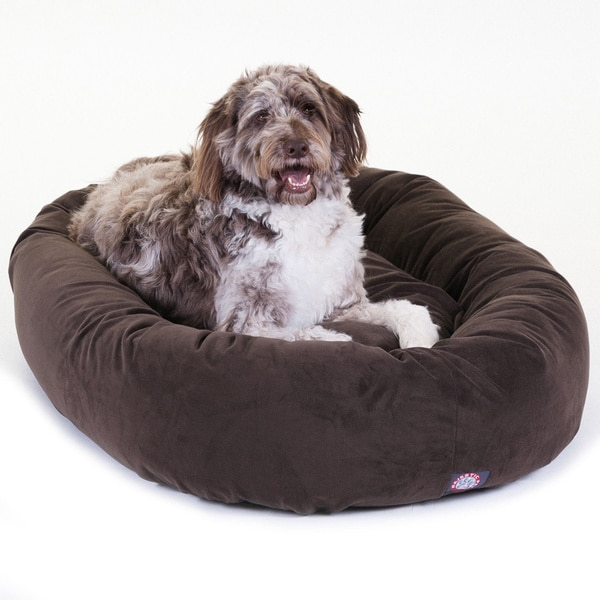 "Majestic Pet 52"" Faux Suede Extra Large Dog Bed"