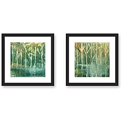 Gallery Direct Ashton 'Imposed Environment' 2-piece Framed Art Set