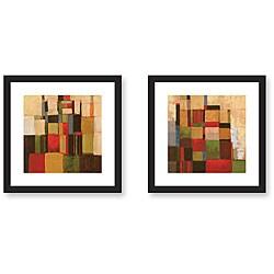 Gallery Direct Cecile Broz 'Flow' 2-piece Framed Art Print Set