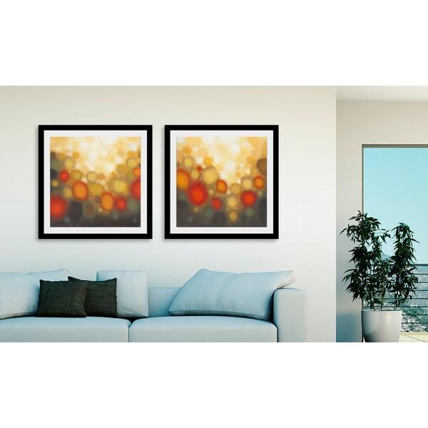 Gallery Direct Sean Jacobs 'Garden Party' 2-piece Framed Art Print Set