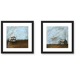 Gallery Direct Joel Ganucheau 'Clouds Over Kansas' 2-piece Art Set